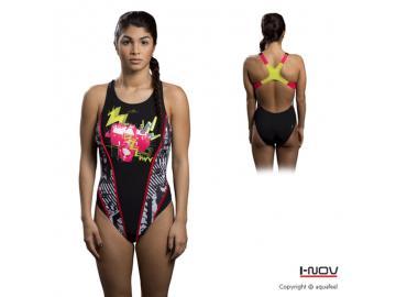 Aquafeel Damen Badeanzug PHOTO X-treme Back