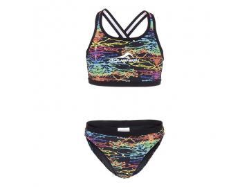 Aquafeel Damen Bikini Watercolors Mini-Crossback