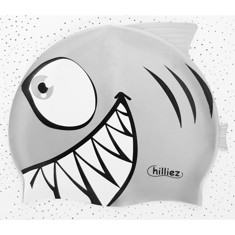 Chilliez Kinder Hai Badekappe Silikon