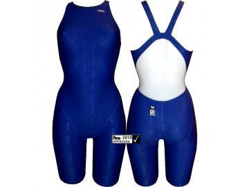Chilliez Wettkampf Schwimmanzug Kneeskin Sharkskin blau