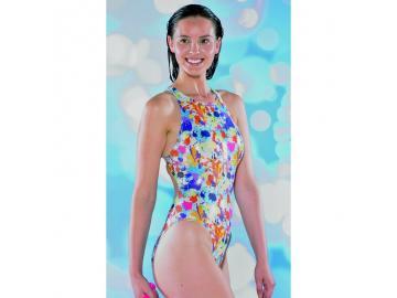 Maru Damen Badeanzug Splash Sparkle Tek Back glänzend