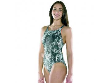 Maru Damen Badeanzug Catz Sparkle Tek Back glänzend