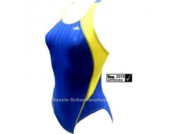 YINGFA Wettkampfanzug Speedsuit blau/gelb