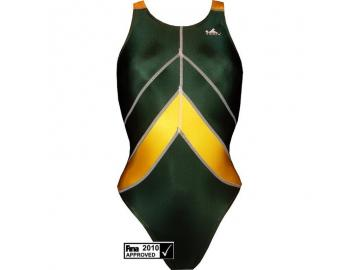 YINGFA Wettkampfanzug Speedsuit grün/gelb