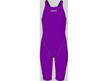 arena Mädchen Wettkampfanzug Powerskin ST 2.0 purple offener Rücken